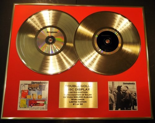 EDITION//COA//WORD GETS AROUND /& PERFORMANCE /& COCKTAIL STEREOPHONICS//DOUBLE CD GOLD DISC DISPLAY//LTD