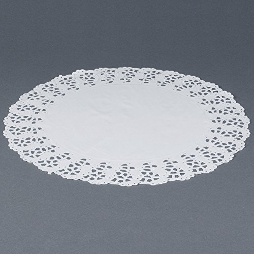 Hoffmaster 500261 18'' Lace Doily - 500/Case by Hoffmaster