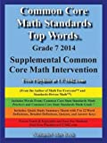 Common Core Math Standards Top Words Grade 7 2014 Supplemental Common Core Math Intervention, Nathaniel Max Rock, 1599800985