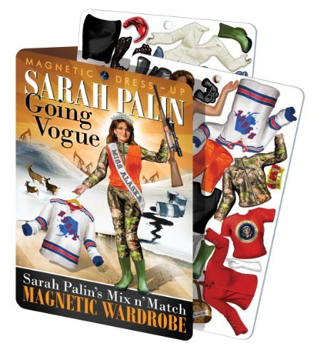 Sarah Palin : Going Vogue Magnetic Dress up Doll by The Unemployed Philosophers Guild