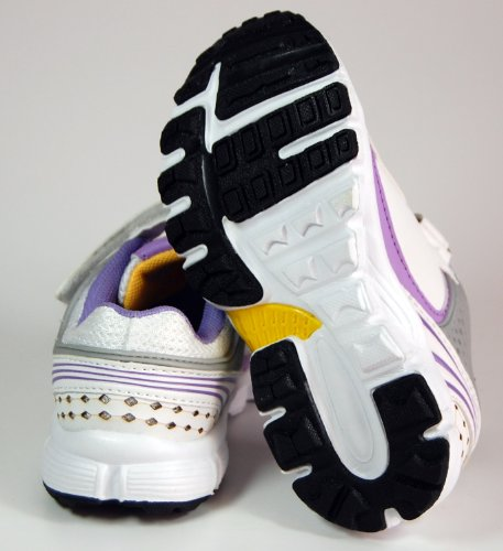 Kinder Schuhe Sport Schwarz Weiß Grün Lila Rosa Halbschuhe Lila