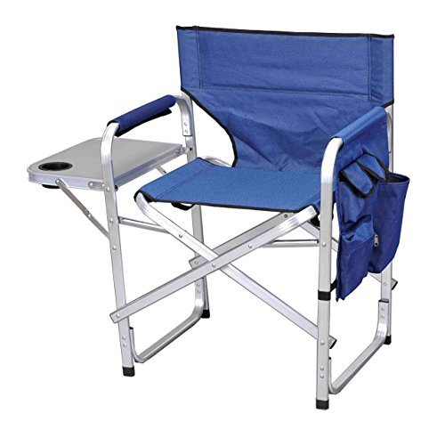 Ming's Mark Inc Director's Chair Folding Blue SL-1204-BLUE (Mings Mark Directors Chair)