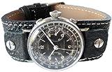 Fluco Vigo 19mm Riveted Black Leather Watch Strap Reviews