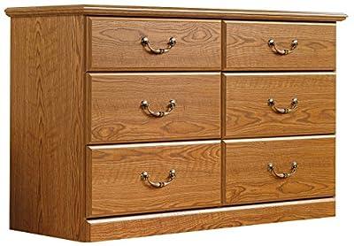 Sauder 401410 Orchard Hills Dresser, Carolina Oak Finish