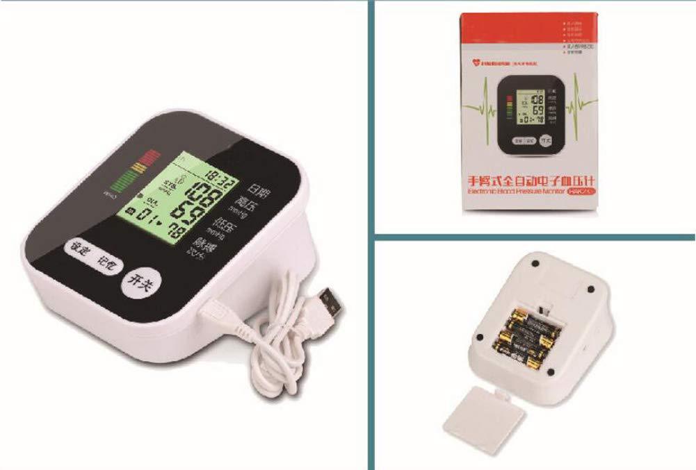 Tensiómetro de brazo con manómetro de brazo y manómetro, con voz inteligente, recargable: Amazon.es: Salud y cuidado personal