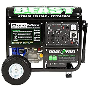 DuroMax XP12000EH Dual Fuel Portable Generator
