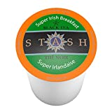 Stash Tea, Super Irish Breakfast Single-Cup Tea for Keurig K-Cup Brewers, 12 Count (Pack of 6)