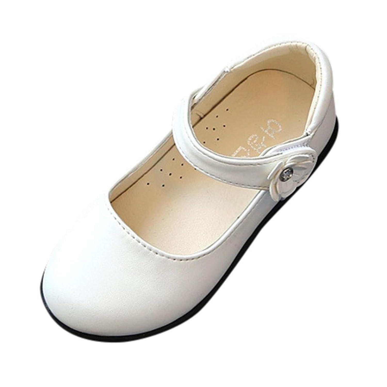 ALIKEEY Bébé Filles Fleurs Sandales Sneaker Toddler Enfants Solide Occasionnels Simples Chaussures Fleurs Enfants Glisser Velcro Princess Chaussures Chaussures Enfants Fille
