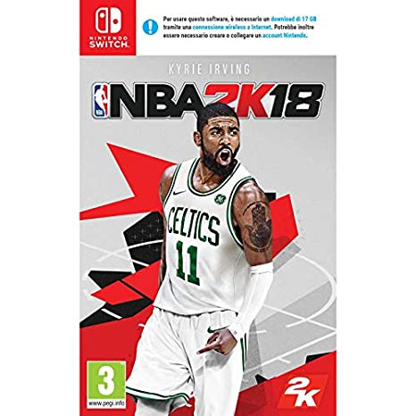 NBA 2K18 - Nintendo Switch [Importación italiana]: Amazon.es: Videojuegos