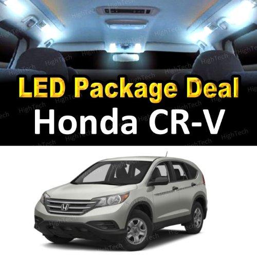 Mdt Light Bulb Lamp (LED Interior Package Super Bright White Light Bulbs for 2001 - 2005 Honda CR-V CRV ( 4 Pieces ))