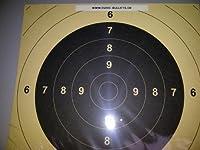 BDS Schießscheibe Nr. 5. Pistole 25/50 m. ISSF. Präzision 100 Stück