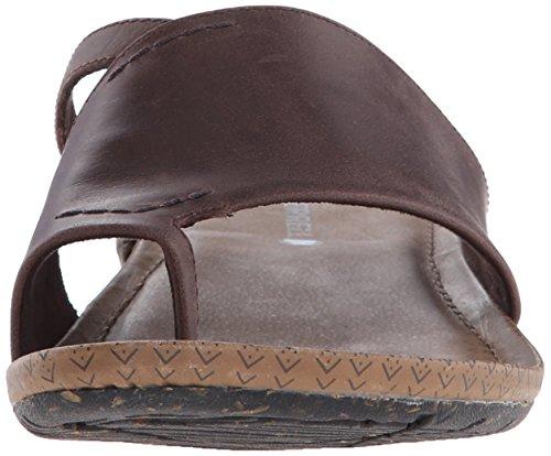 Merrell diapositiva Wrap sandalia la Brown Whisper de TXrwqgxST