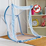 New Portable Baby Kids Infant Crib Mosquito Net for Nursery Bedding, Canopy Arch Folded Netting Tent