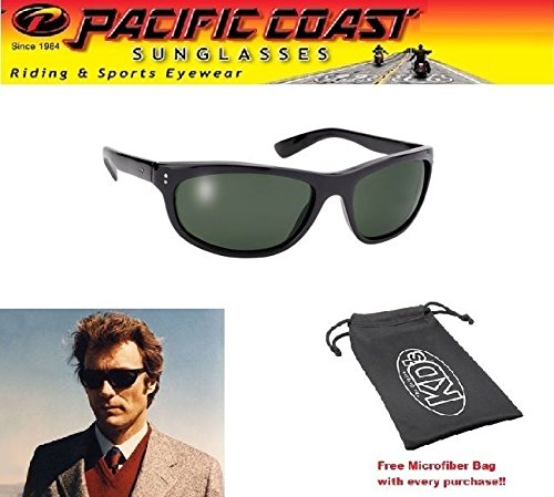 Mens Sunglasses Dirty Harry PC Sun Makers of KD Clint Eastwood Movie Shades - Sunglasses Clint