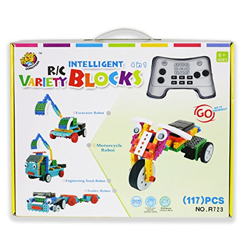 Building Toys Teens : Remote control building kits for boy gifts stem robot