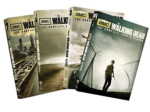 The Walking Dead Seasons 1-4 Collection