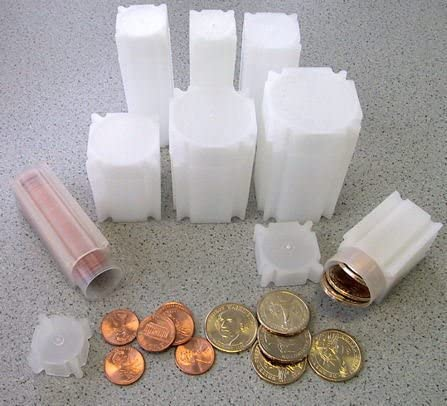 CoinSafe Square Tubes for Liberty Barber Washington State /& ATB Park Quaters