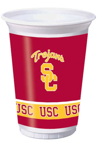 UPC 073525930268, Creative Converting USC Trojans Printed 20 Oz. Plastic Cups (8 Count)