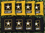 Victory Tailgate 8 Us Army Star Regulation All Weather Cornhole Bags