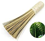 ware brush - QHTY 10 Inch Clean Kitchen Tableware /Pot Bamboo Brush Stir