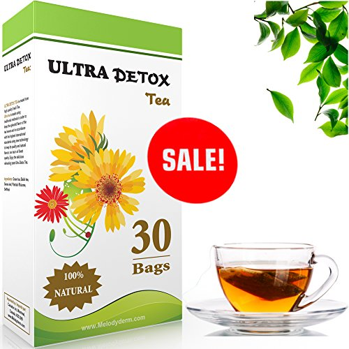 Ultra-skinny-Detox-30-Day-Targets-Belly-Fat-1-Weight-Loss-Tea-Laxative-Reduces-Bloating-Colon-Cleanse-Boosts-Metabolism-Relieves-constipation-Detox-your-body-Green-Tea-Senna