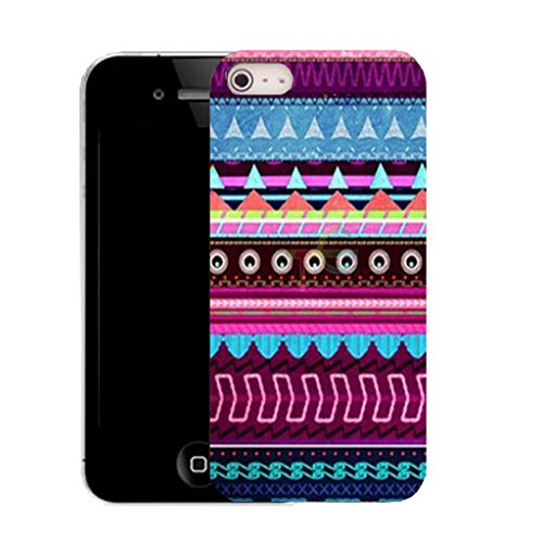 Mobile Case Mate IPhone 4s clip on Silicone Coque couverture case cover Pare-chocs + STYLET - fortitude pattern (SILICON)