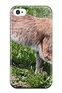 Vicky C. Parker's Shop Best High Grade Flexible Tpu Case For Iphone 4/4s - Lynx Pictures