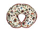 Nursing Pillow Cover Tan Retro Biker Tattoo for Baby Boy or Girl
