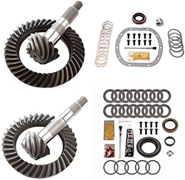 4.88 RING AND PINION GEARS /& INSTALL KIT PACKAGE DANA 30 YJ FRONT D35 REAR