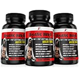 Insane Burn Fat Burner: Muscle Preserving Thermogenic Fat Burner Supplement for Men - w Raspberry Ketones- Supports Weight Loss, Increase Energy, Regulate Metabolism, and Higher Mental Focus, 60 Pills