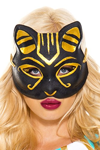 Music Legs Egyptian Cat Mask, Egyptian -