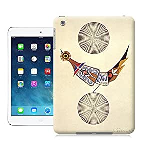 Unique Phone Case Japanese artist Takeo Takei creates an unusual illustration of a bird on earth beneath the moon 643x970 Hard Cover for ipad mini cases-buythecase
