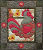 Rachel's Of Greenfield - Spotty Rooster Wall Quilt Kit-13''X15''