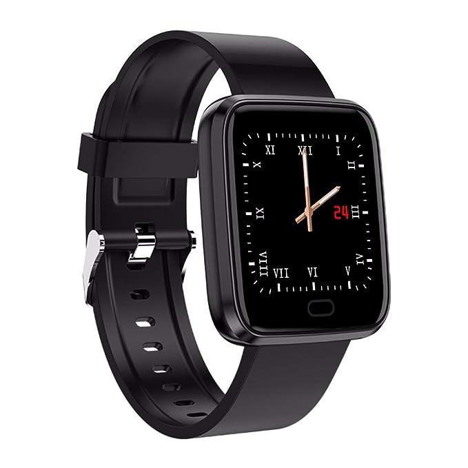 DAYLIN Reloj Inteligente Hombre Mujer Smart Watch Fitness Tracker ip67 Impermeable Waterproof Reloj Pulsera Actividad Monitor Cardíaco Sueño Reloj Bluetooth ...