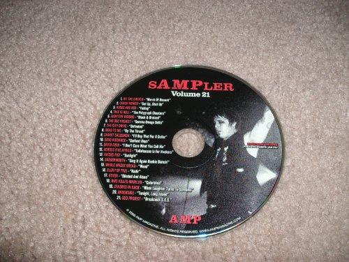 AMP MAGAZINE CD SAMPLER VOLUME 21