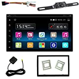 iMeshbean 7'' Touch Screen Quad Core Android 5.1 Car CD DVD Player GPS Navi OBD2 Radio + Car Wireless Backup Camera