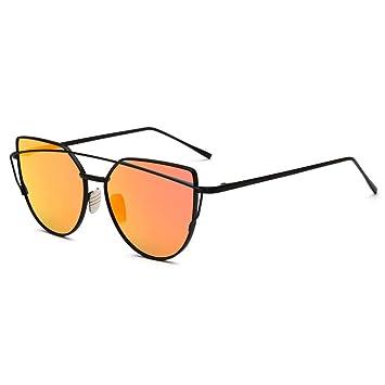 Lidahaotin Eyewear Donne Retro Sunblock uomini sunglasses Fashion Girl obiettivo chiaro Parasole Steampunk signora Metal 16# mdVNgwp