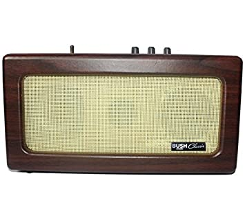 Bush Classic Retro Wireless Bluetooth Speaker - Brown