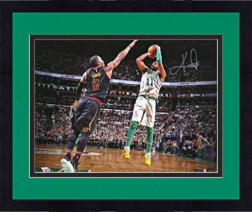 8fdcd27e09d panini authentic. Framed Kyrie Irving Boston Celtics Autographed 16
