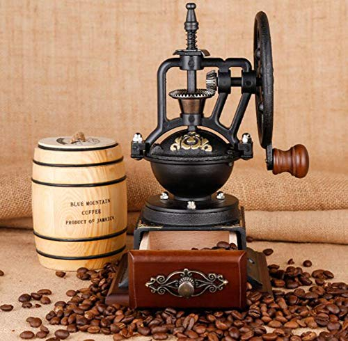 PsgWXL Hand-cranked Grinder Coffee Home Manual Coffee Machine Small Coffee Bean Grinder Grinder by PsgWXL (Image #1)