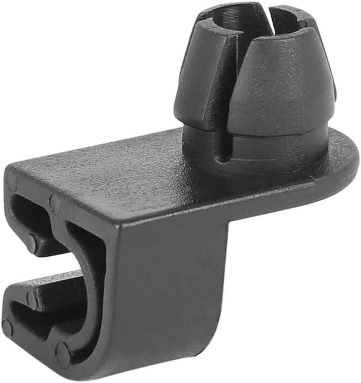 X AUTOHAUX 5pcs Plastic Car Hood Prop Rod Clip Retainer for Peugeot 206 307 308 408