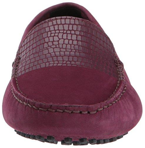 Lacoste Women's Couvel 317 1 Fashion Shoe Sneaker, Burgundy, 6 M US