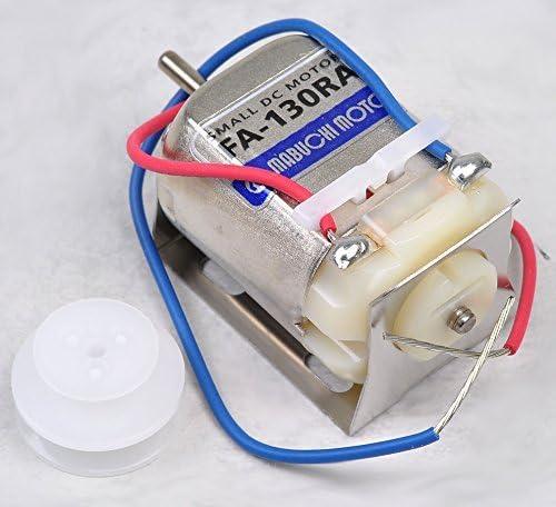 マブチモーター mFA-130RA-SET (1BOX 10個入) 小型直流モーター 模型に使われる代表的な工作用モーターです☆