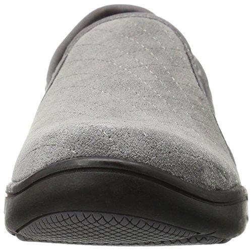 Fashion Grasshoppers Women's Grey Clara Steel On Slip wqTW8n0q