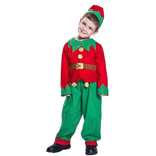Lingqiqi Vestido de Navidad Traje navideño navideño Traje de Tres ...