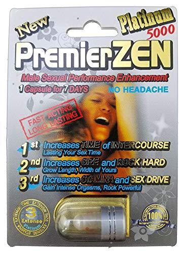 PremierZen Platinum 5000 - 20 Pills Male Enhancement Pill - Fast US Shipping