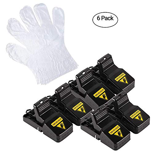 - Ji'an Baishijie E-commerce Mouse Trap, Durable Mice Rats Traps Reusable Mouse Control for Outdoor and Indoor use (6 Pack)