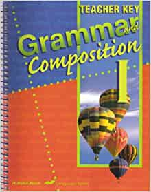 A Beka Book Grammar and Composition III/ 9th gr/ Test and Quiz Key