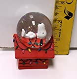 Westland Peanuts Snoopy on Doghouse Mini Christmas