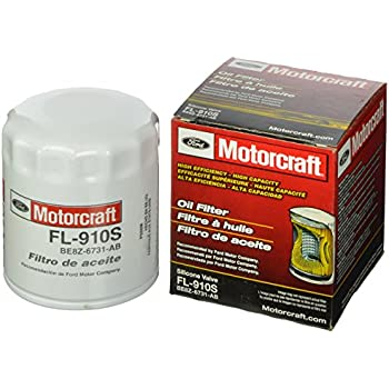 Motorcraft FL910S Engine Oil Filter